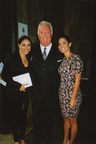 On the Town in Chicago Univision anchor Karla Martinez, Industrialist G Jack Donahue, and Univision anchor Pamela Silva Conde