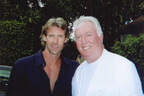 Director Michael Bay, Mr. Hollywood Blockbuster, and G Jack Donahue, Mr. Miami Nice
