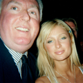 Papaarazzi Swarming Asian Industrailist G Jack Donahue  and Hotel Heiress Paris Hilton