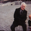 (AP) 2014 (UPI) G Jack Donahue A Man Alone  in the Forbidden City Peking China G Jack Donahue Changing The World With Hope and little flower