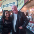 Guess Girl  ? With G Jack ?  At LaGuardia Airport