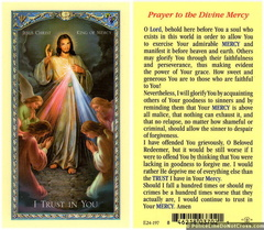 Prayer to the Divine Mercy