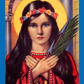 Lovely Holy Saint Philomena Pray and Bless ALL That see and read This Amen
